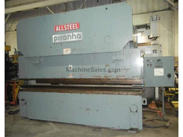 250 ton x 12' Allsteel/Piranha 250-12 Press Brake