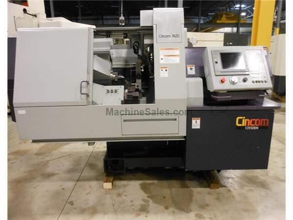 Used 2000 Citizen M20 CNC Screw Machine