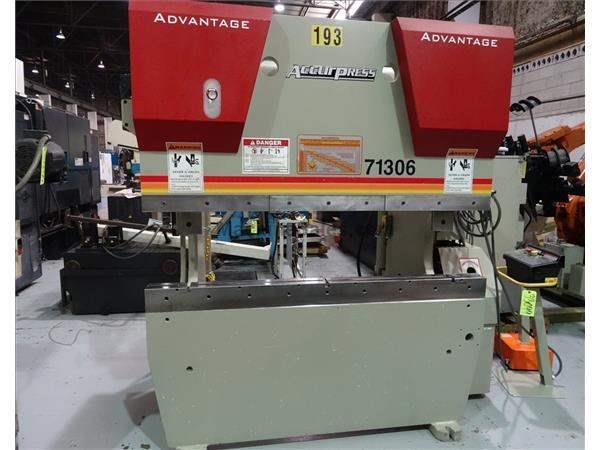 ACCURPRESS ADVANTAGE 71306 HYDRAULIC PRESS BRAKE