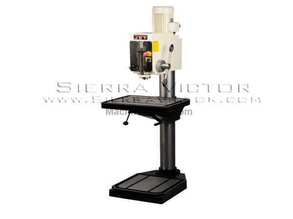 "26"" JET® / Arboga Gear Head Drill Press with Powerfeed"