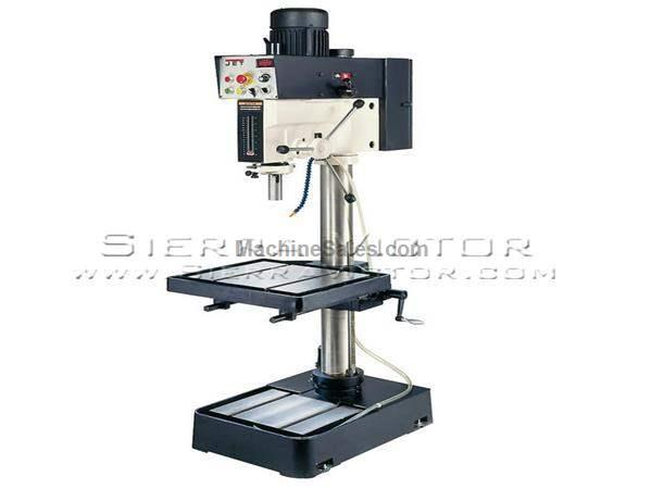 "20"" JET® Electronic Variable Speed Drill Press"