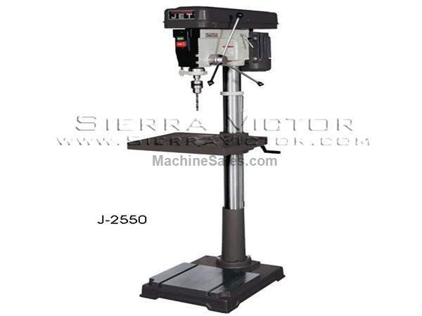 "20"" JET® Step Pulley Drill Press"