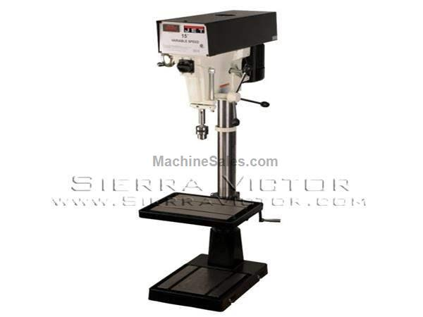 "15"" JET® Variable Speed Drill Presses"