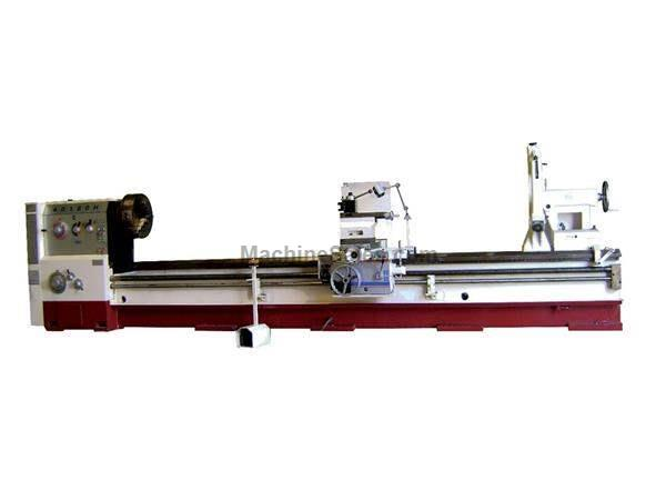 "40"" Swing 180"" Centers GMC GML-40180HLB6 ENGINE LATHE, D1-11 with 6-1/4"" large bore; heavy duty lathe"