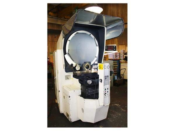 "30"" Screen OGP XLO-827 OPTICAL COMPARATOR, DRO, POWER TABLE, 10X/20X/31.25X, SURF. ILL."