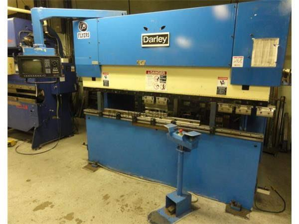 "55 Ton 100"" Bed Darley EHP50 PRESS BRAKE, Delem DA69 8-axis CNC Control"