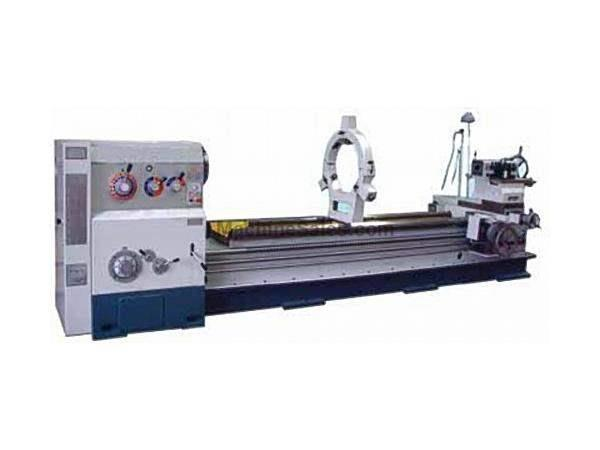 "40"" Swing 180"" Centers GMC GML-40180H ENGINE LATHE, D1-11 with 5-1/8"" bore, 20 HP; heavy duty lathe"
