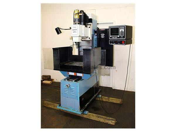 "14"" X Axis 2HP Spindle Southwest Ind. Quik Cell CNC VERTICAL MILL, QMV 3-Axis Cntrl, Programmable Spindle Speed,#40 T"