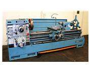 "24"" Swing 80"" Centers Victor 2480 ENGINE LATHE, Inch/Metric,Gap,4-Jaw,Steady, 15"