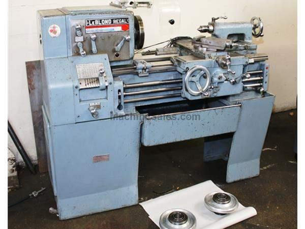 "13"" Swing 18"" Centers LeBlond REGAL ENGINE LATHE, Threads, 3 HP, 4-Jaw,"