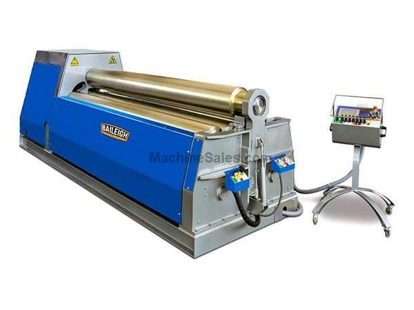 "122"" WIDTH 0.55"" THICKNESS Baileigh PR-10500-4NC NEW BENDING ROLL, 1/2"" x 10' 4-Roll N/C Bending Roll Made in Italy"