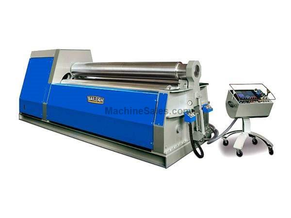 "122"" WIDTH 0.55"" THICKNESS Baileigh PR-10500-4CNC NEW BENDING ROLL, 1/2"" x 10' 4-Roll CNC Bending Roll Made in Italy"