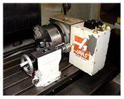 "8.3"" W or Dia Haas SHRT-210H 4th AXIS CNC ROTARY TABLE, w/Tailstock"