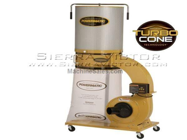 1,064 CFM POWERMATIC® PM1300TX-CK Dust Collector with Canister Kit