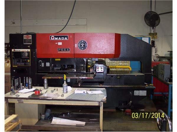 Amada PEGA 244 THICK Turret. 36 station with NO auto index station