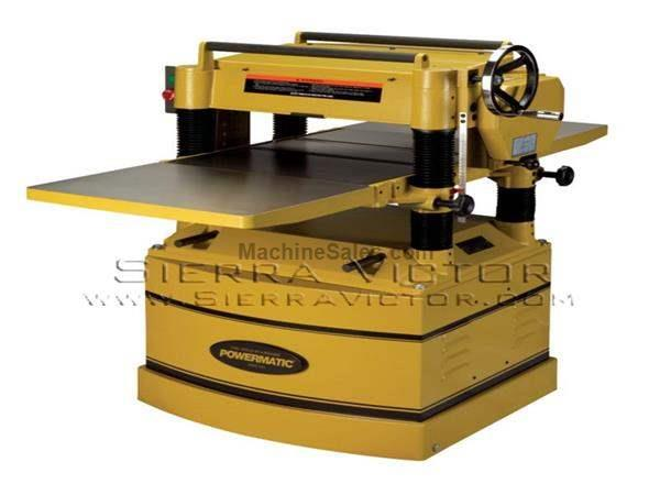 "20"" POWERMATIC® Planers"