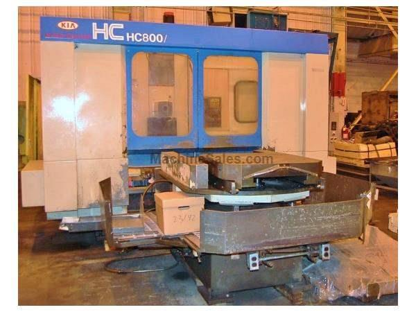 KIA HC-800 Horizontal Machining Center With Pallet Changer