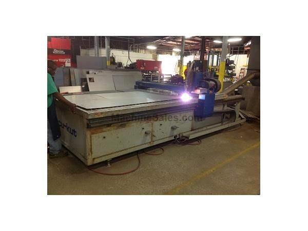 AKS Accu-Kut 5x10, CNC Plasma Table