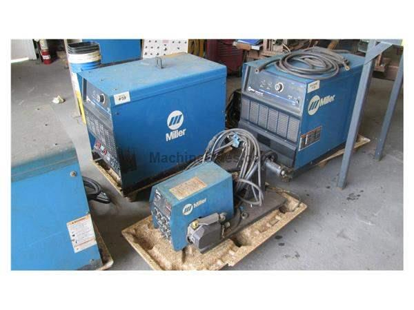 MILLER DELTAWELD 452 WELDERS (13 AVAILABLE)
