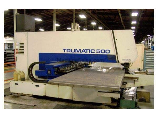 TRUMPF, TC500/1300, 27Ton, CNC TURRET PUNCH, BOSCH CNTRL, NEW: 2000