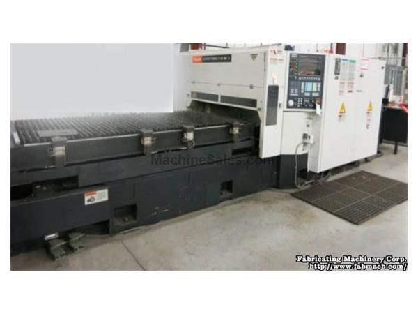 Mazak Super Turbo-X48 MkII Laser