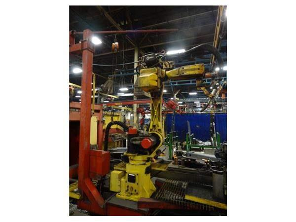 GENESIS ROBOTIC WELDING CELL WITH FANUC ARCMATE 120I