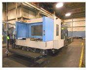 2004 TOYODA FA800 4 AXIS CNC HORIZONTAL MACHINING CENTER FANUC 1