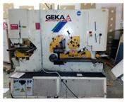 185 Ton Geka Hydracrop 165/300 Hydraulic Ironworker