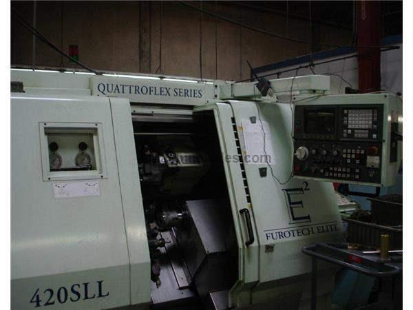Used 1996 Euro Tech 420 SLL CNC Turning Center