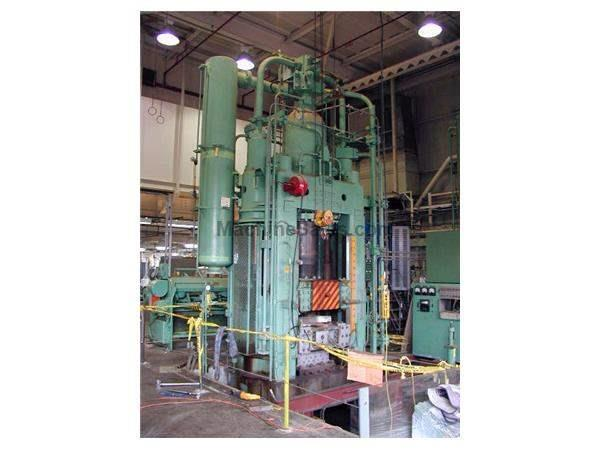 1000 Ton, LOEWY WATER HYDRAULIC VERTICAL EXTRUSION PRESS