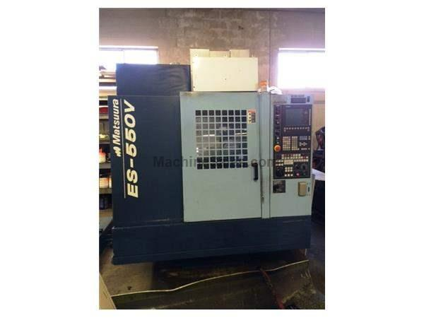 2005 Matsuura ES-550V CNC Vertical Machining Center