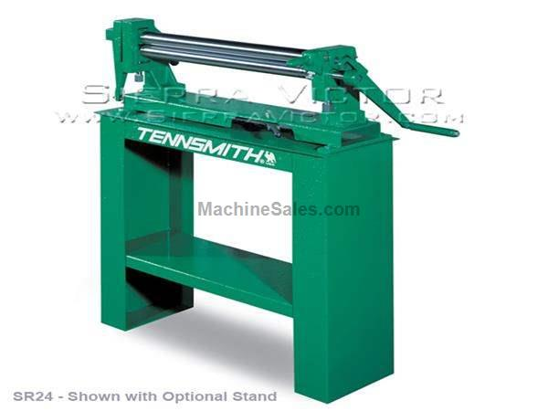 "24"" - 49"" x 16 - 24 ga TENNSMITH® Manual Slip Rolls"