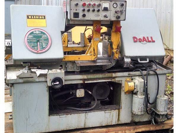"12"" x 16"" DoAll Horizontal Band Saw Model C-1216-A New 1981"