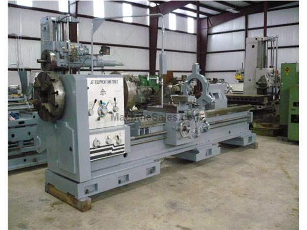 "32"" X 120"" Used National (Jet) Hollow Spindle Engine Lathe"