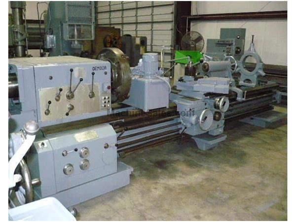 "33"" X 120"" Used Demoor Hollow Spindle Engine Lathe"