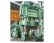 "4000 ton open die hot forging press, oil hydraulic, 88"" stroke"