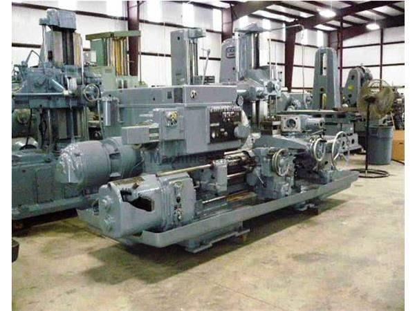 3 A Used Warner & Swasey Square Head Saddle Type Turret Lathe