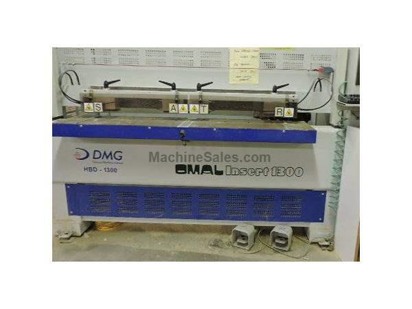 DMG, model HBD-1300 (OMAL insert 1300), bore and dowel inserter
