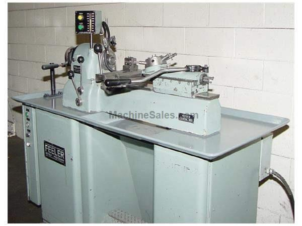 "9"" Swing Feeler FTS-27 SERIES II SECOND OP LATHE, Vari-Speed,5C-Collet Closer,CrossSlide & Turret"