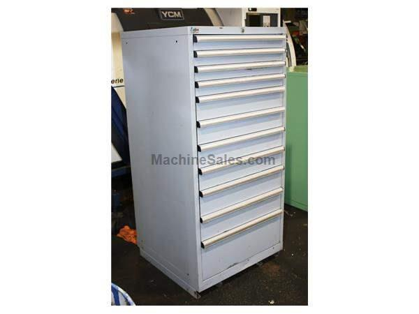 "60"" Height 11 # Drawers Lista 11 Drawer TOOL CABINET"