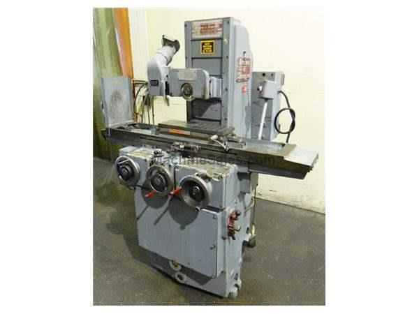 "6"" Width 18"" Length Brown & Sharpe 618 Micromaster SURFACE GRINDER, HYD. TABLE & CROSS FEED, CHUCK"