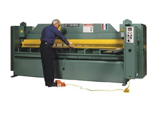 "0.25"" Cap. 96"" Width Betenbender 8'-250 *Made in the USA* NEW SHEAR, 1/4"" x 8' Low Profile Hydraulic Shear; 15 hp"