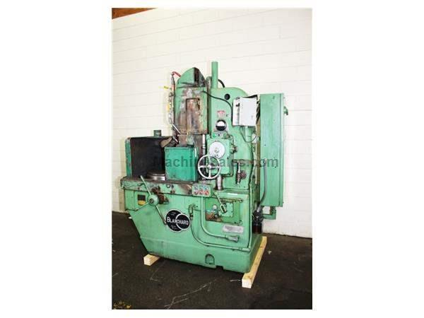 "16"" Chuck 15HP Spindle Blanchard 11-16 ROTARY SURFACE GRINDER, LATER MODEL ELECTO-MATIC, WET BASE"