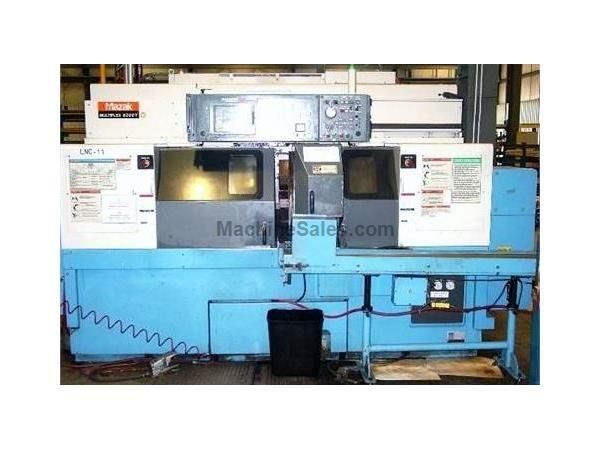 MAZAK Multiplex 6200Y Twin Spindle 8-Axis CNC Turning Center