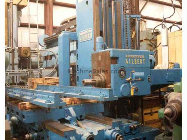 "5"" CINCINNATI GILBERT TABLE TYPE HORIZONTAL BORING MILL:  STOCK #1777"