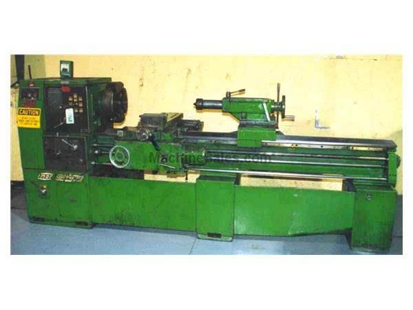 "22"" X 84"" SUPERMASTER ENGINE LATHE:  STOCK #8768"