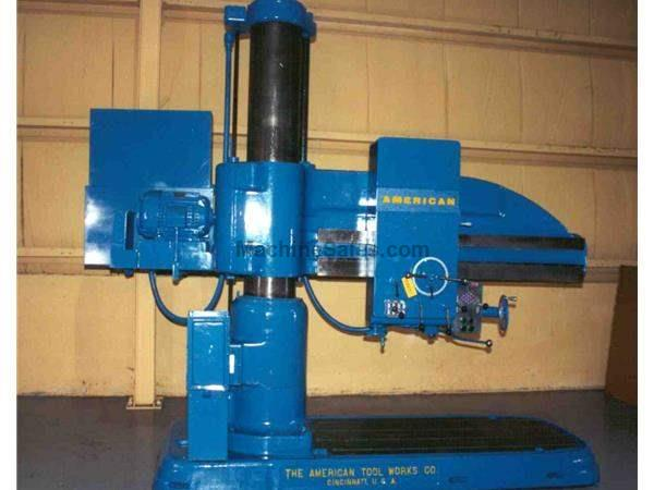 "6' X 15"" AMERICAN RADIAL DRILL:   STOCK #11200"