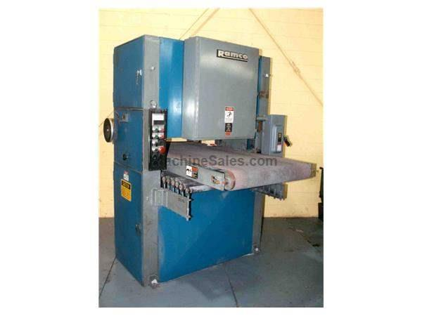 "36"" RAMCO PASS THROUGH BELT SANDER :  STOCK #12017"