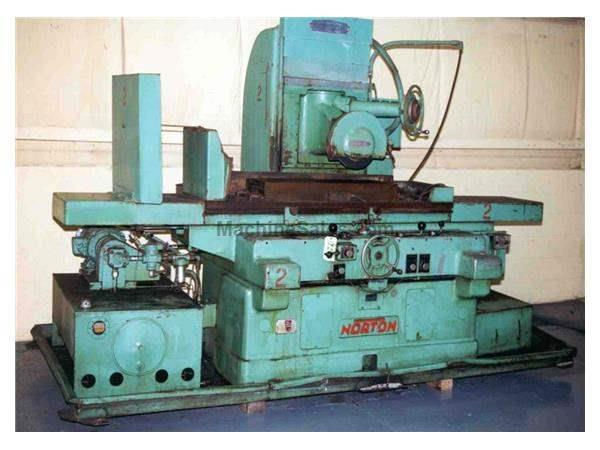 "12"" X 36"" NORTON HYDRAULIC SURFACE GRINDER: STOCK #12620"