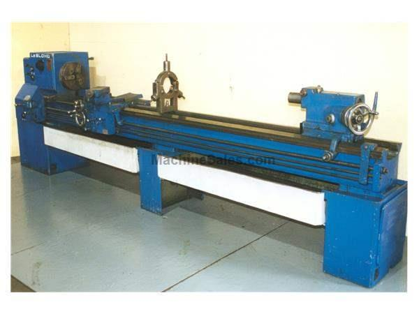 "19"" X 126"" LEBLOND REGAL ENGINE LATHE:  STOCK #13607"